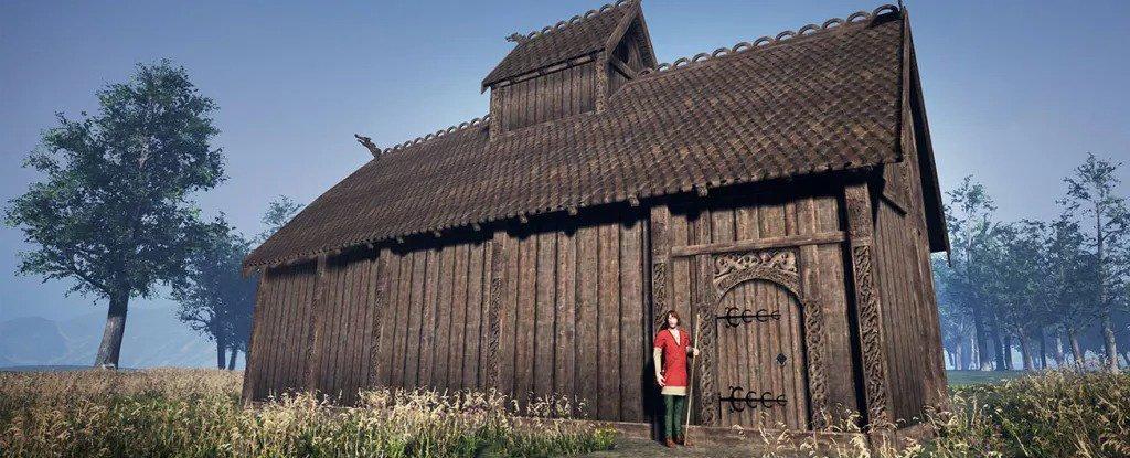В Норвегии обнаружили руины 1200-летнего языческого храма викингов