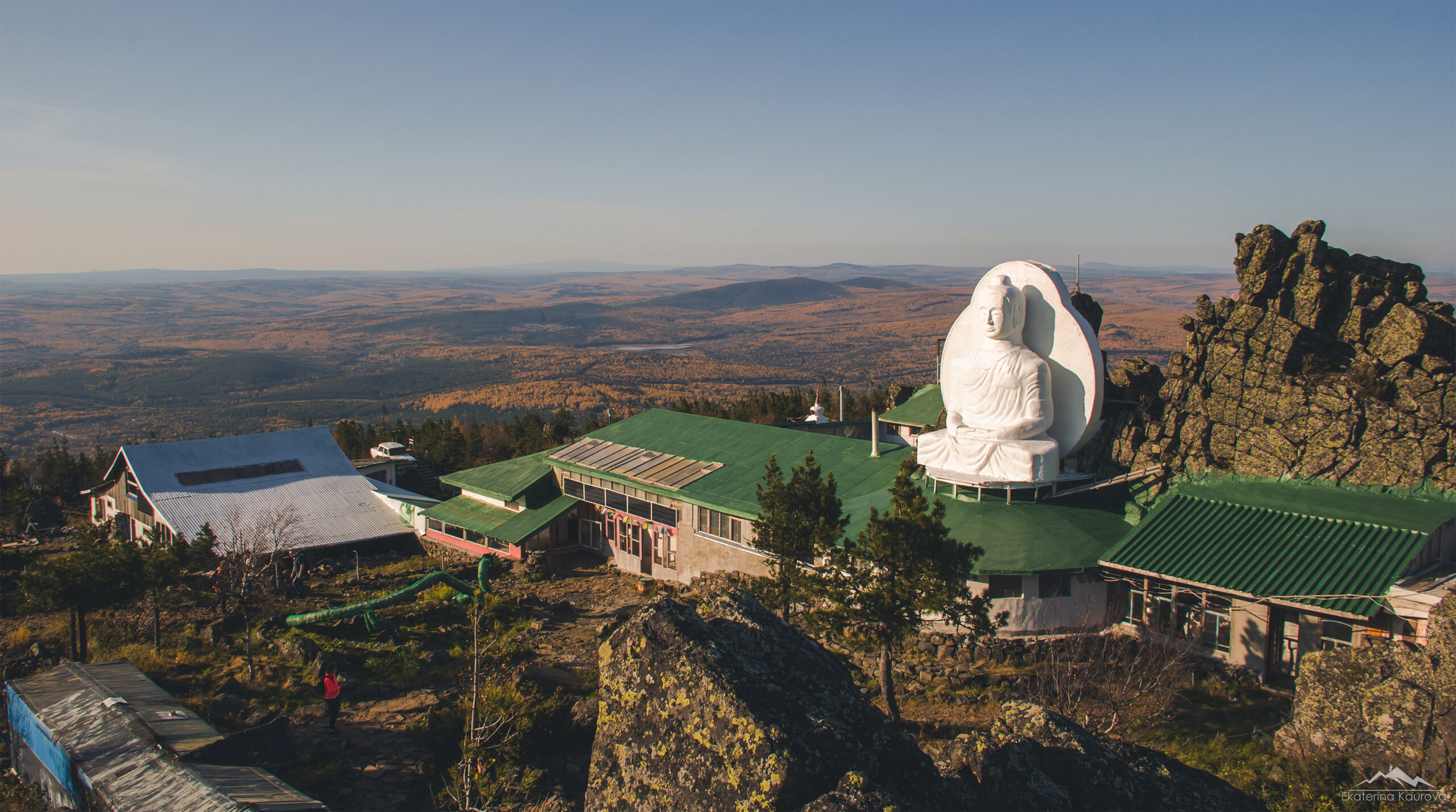 Буддистов обязали покинуть монастырь на горе Качканар