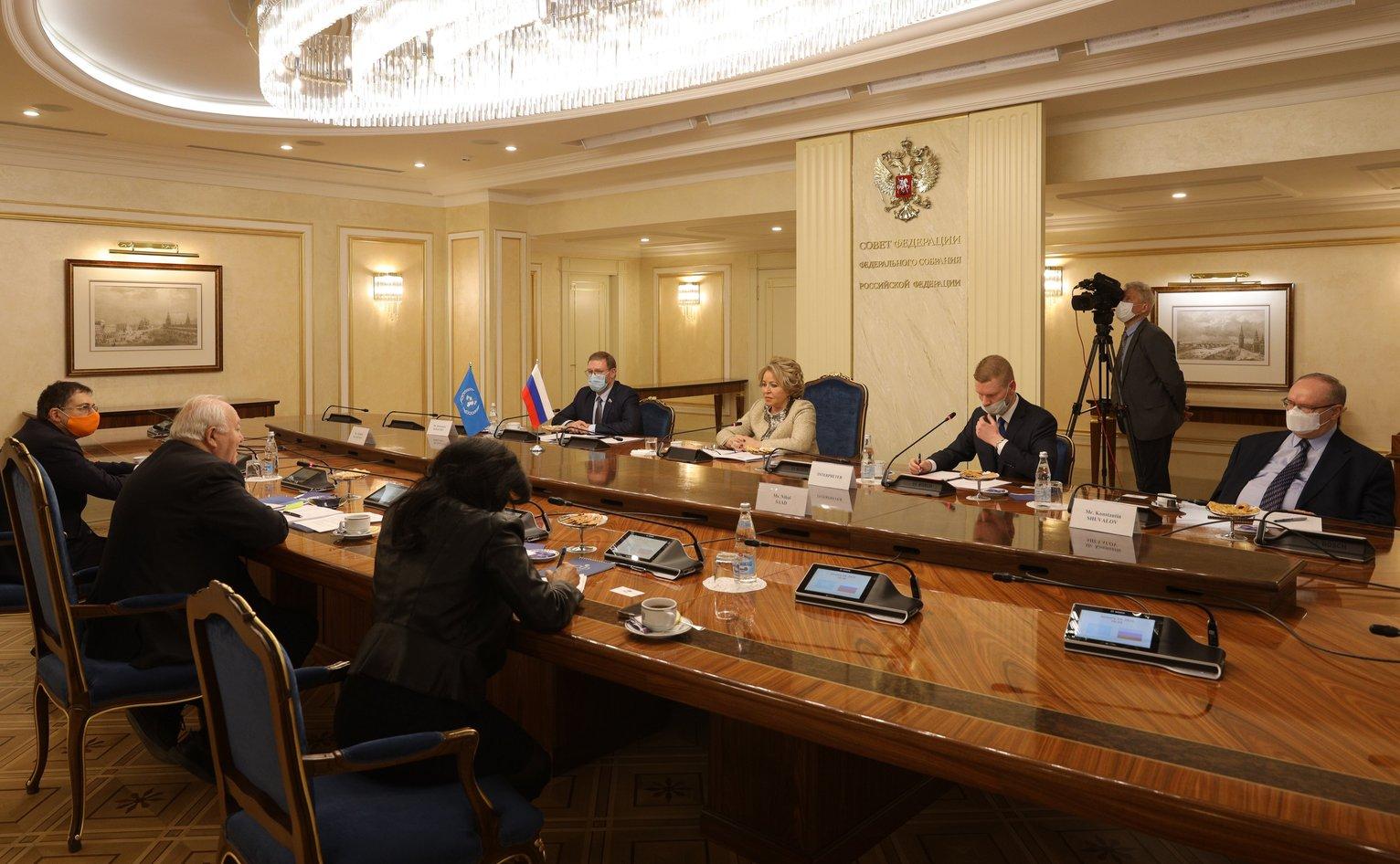 Глава Совета Федерации России: Вопросы межрелигиозного и межэтнического диалога носят фундаментальный характер