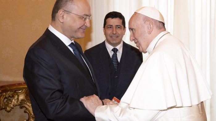 Президент Ирака и папа Римский встретились в Багдаде