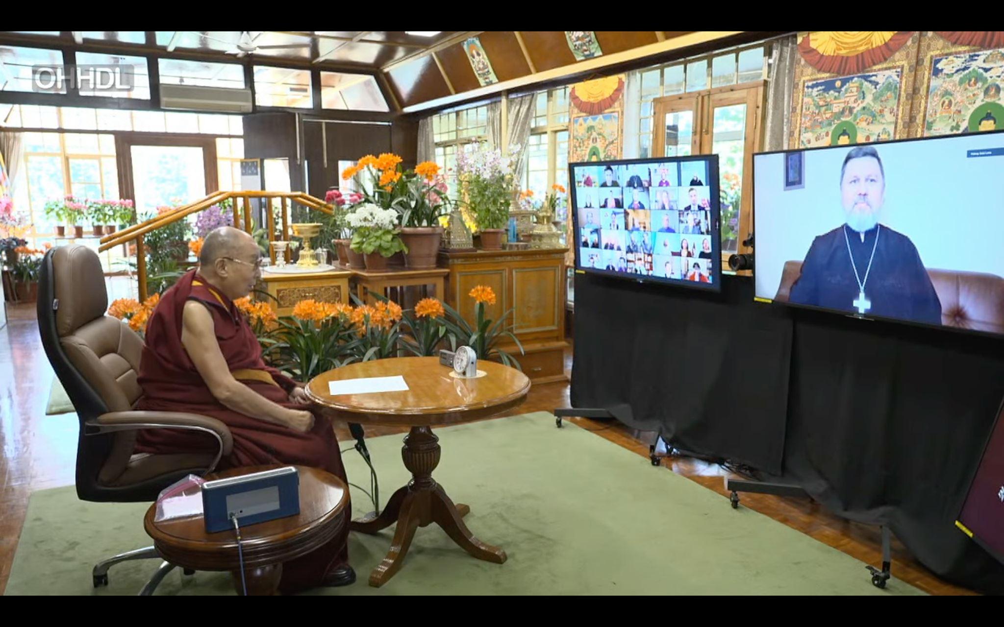 Лютеранский священник принял участие в межрелигиозном диалоге с Далай-Ламой