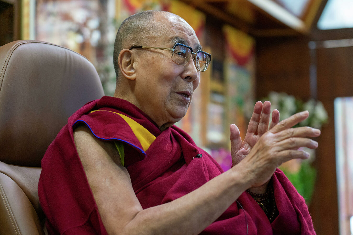 Далай-лама заявил: Глобальное потепление и нехватка воды – угроза для всех