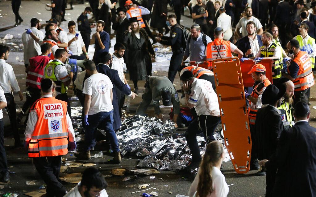 Десятки людей погибли во время религиозного праздника в Израиле