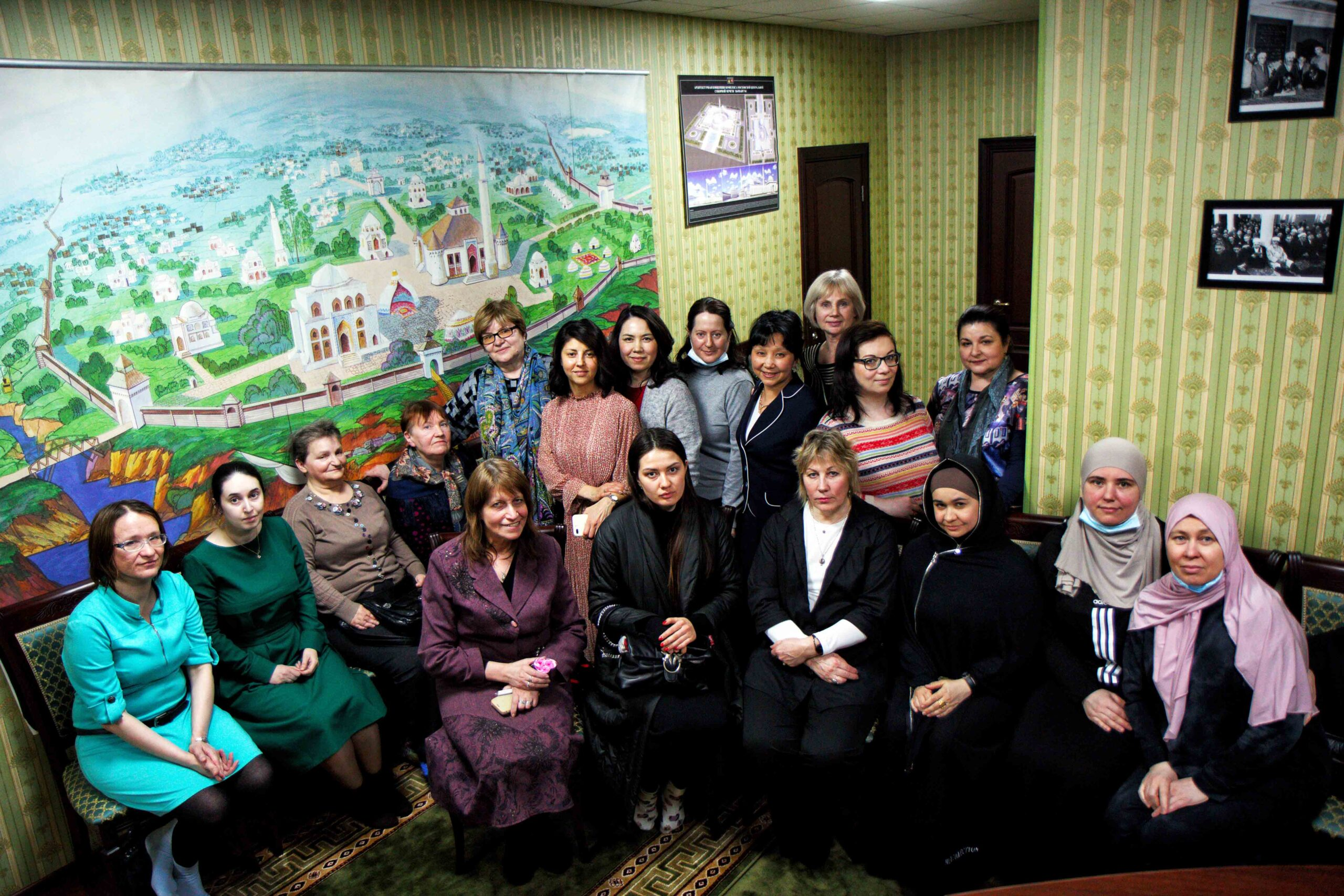 В рамках Пасхального марафона прошла встреча женского межрелигиозного клуба Москвы