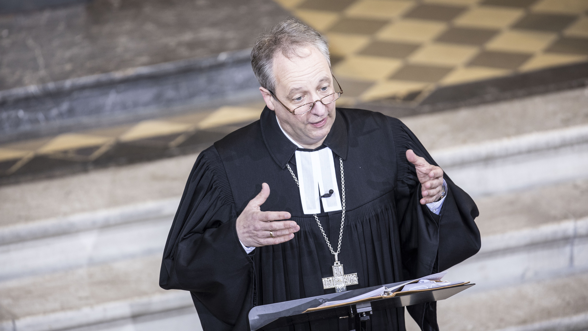 Слово епископа на торжестве закладки краеугольного камня Дома Единого