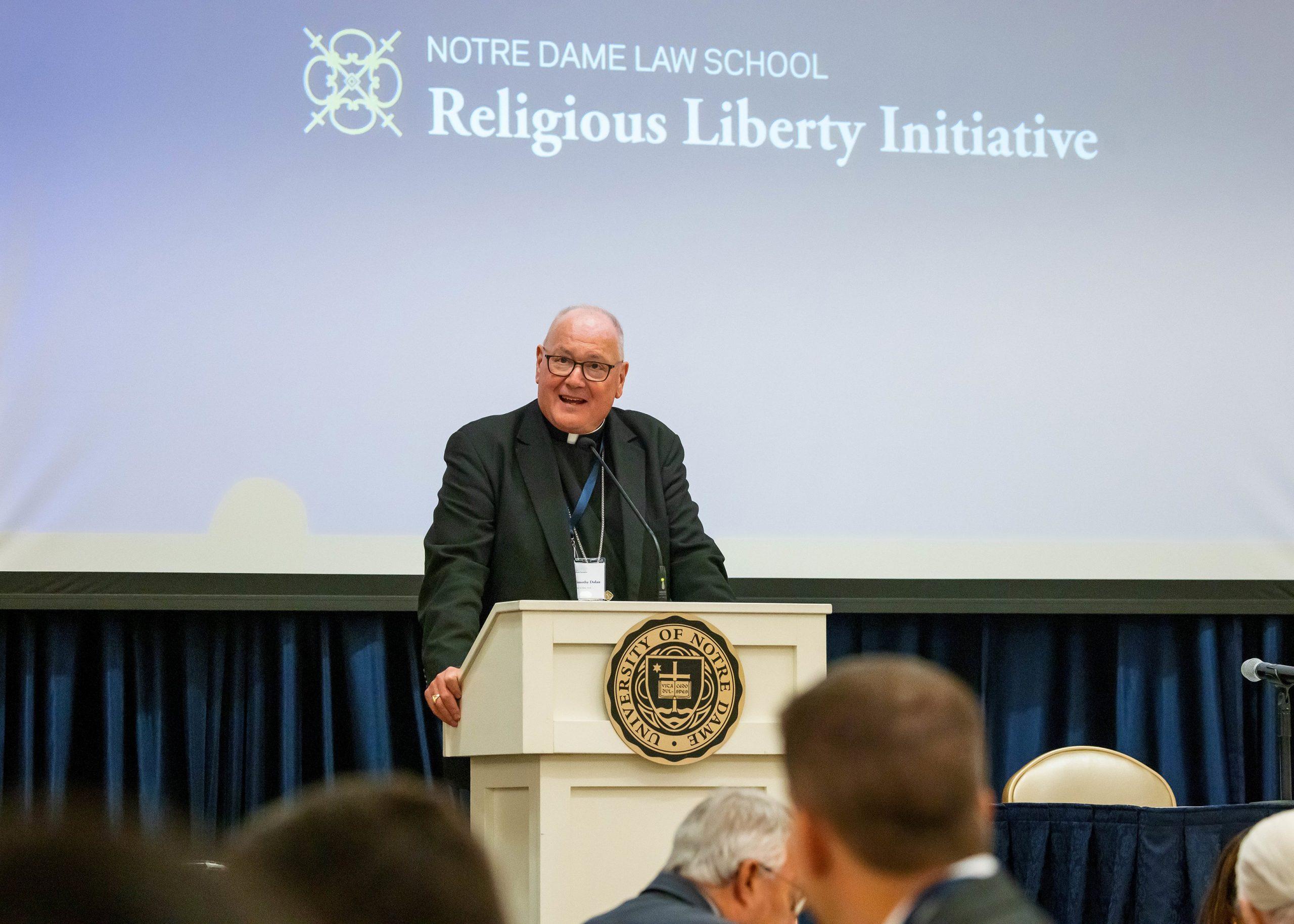 Кардинал Долан: Религиозная свобода важна для человеческого достоинства