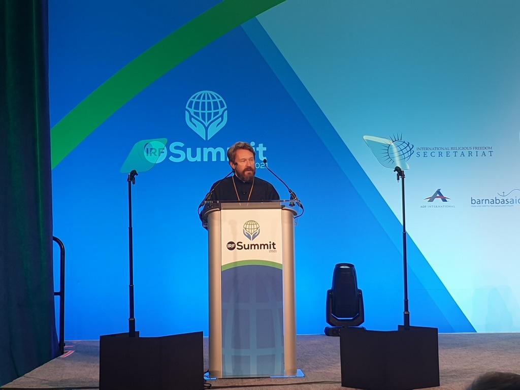 Председатель ОВЦС выступил в Вашингтоне на Международном саммите по вопросам религиозной свободы