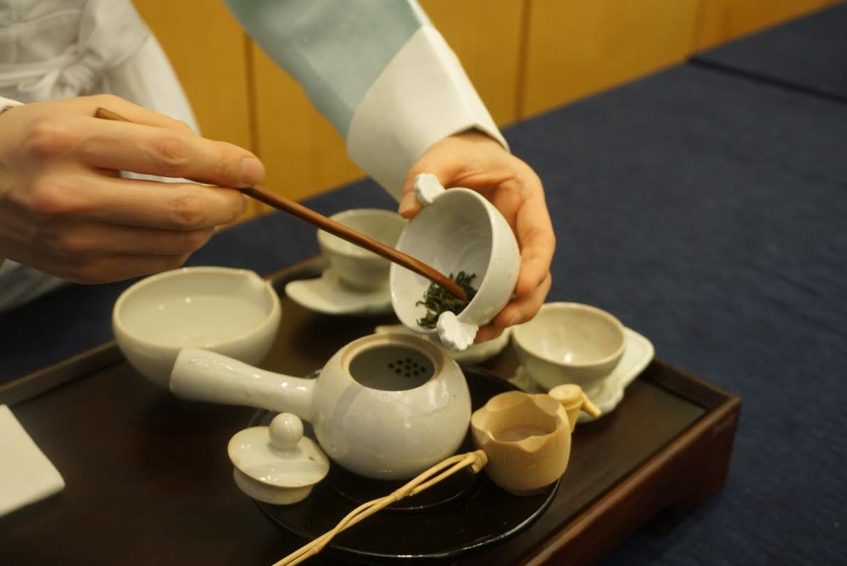 Попчонг Суним и Путь чая