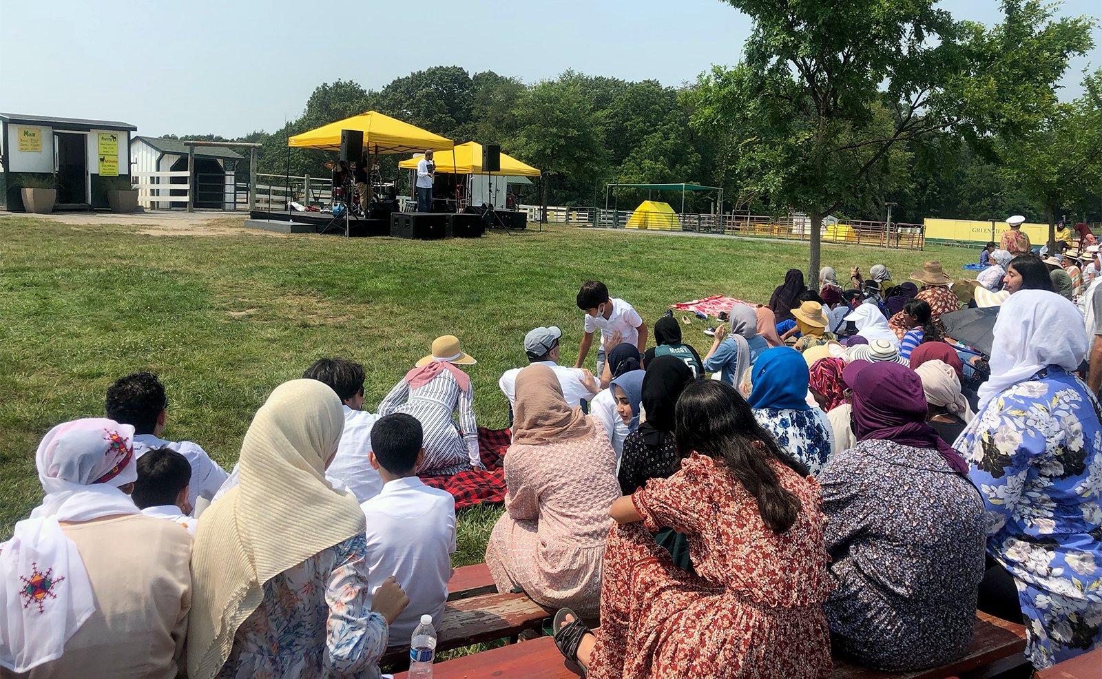 Мусульмане Мэриленда отмечают Ид аль-Адха фермерским карнавалом