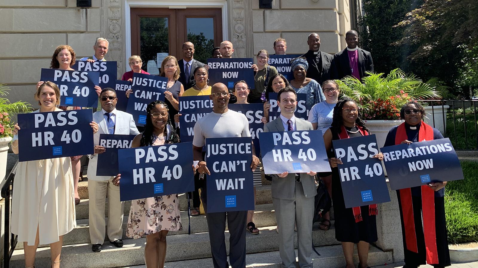 Законопроект о репарациях за расизм в США объединяет представителей разных религий