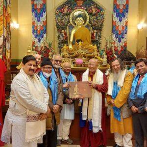 Индийская делегация посетила Россию для расширения  сотрудничества с буддийскими организациями