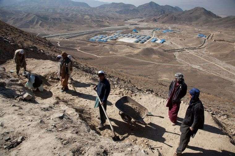 Будущее древнего буддийского города Мес Айнак в Афганистане, снова под вопросом после захвата талибами